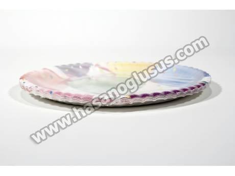 Balon Temalı Kağıt Parti Tabağı