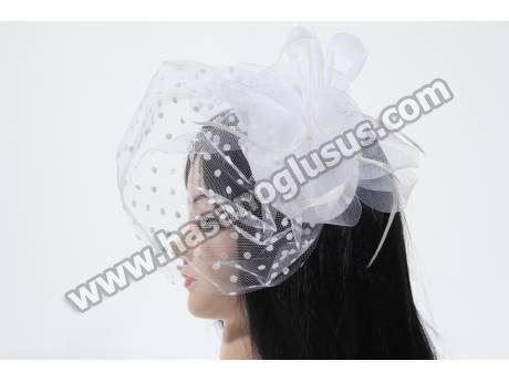 Beyaz Fransız Şapka
