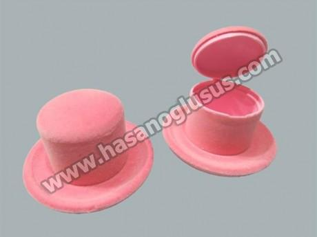 Flok Kaplama Kutu Şapka Modeli