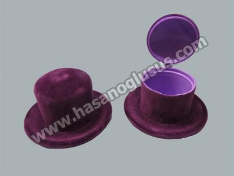 Flok Kaplama Şapka Kutu