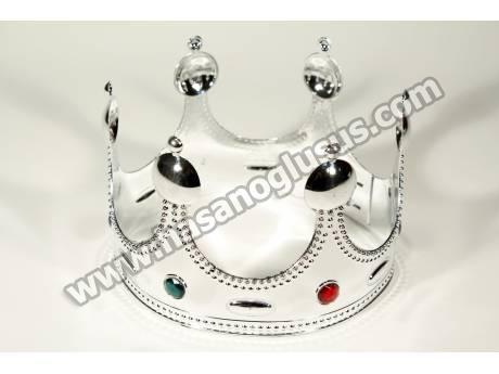 Gümüş Kral Tacı