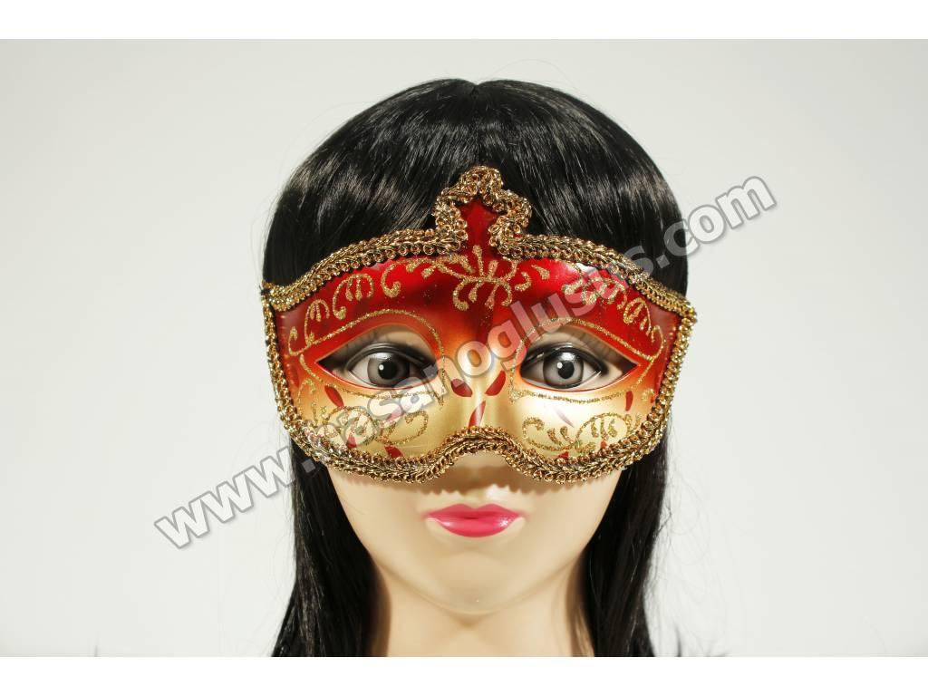 Eğlence Malzemeleri, İşlemeli Yaldızlı Kına Maskesi
