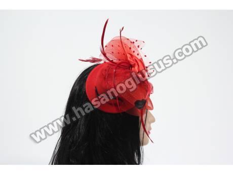 Kırmızı Fransız Şapka Modeli