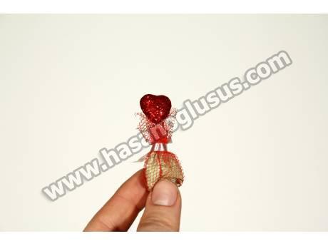 Kırmızı Kalpli Kına Paketi