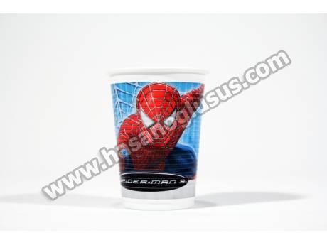 Lisanlı Spiderman Parti Bardağı 8 Adet