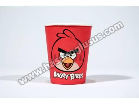 Lisanslı Angry Birds Parti Bardağı 8 Adet
