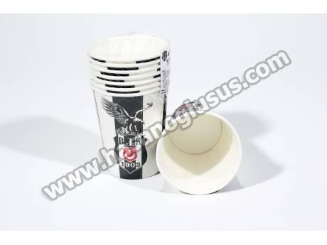 Lisanslı Beşiktaş Parti Bardağı 8 Adet
