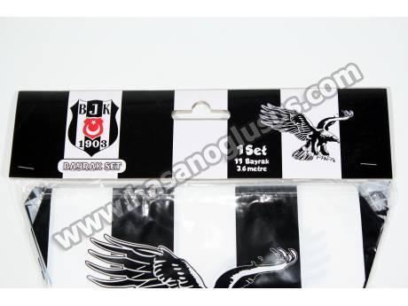 Lisanslı Beşiktaş Parti Flaması