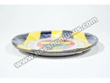 Lisanslı Fenerbahçe Parti Tabağı 8 Adet