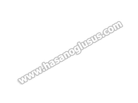Mini Aynalı Gümüş Anahtarlık