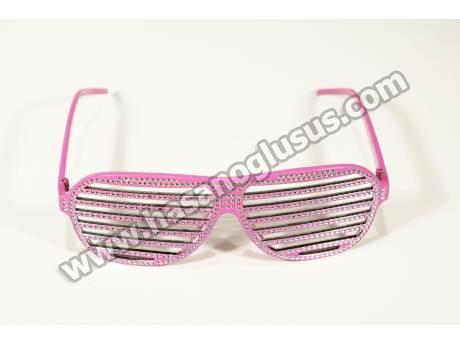 Panjurlu Pembe Parti Gözlüğü