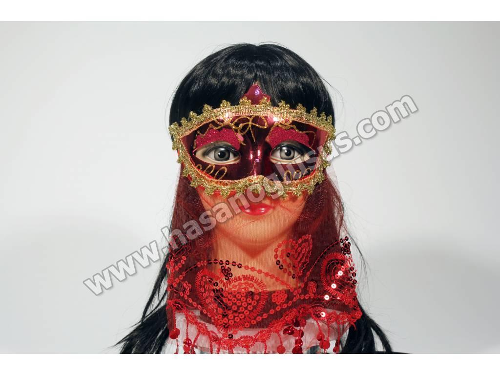 Eğlence Malzemeleri, Peçeli Kına Maskesi