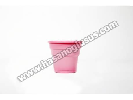 Pembe Parti Bardağı 25 Adet