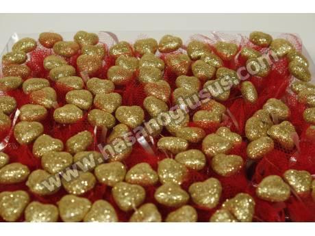 Sarı Kalpli Kına Paketi
