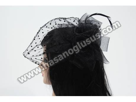 Siyah Fransız Şapka