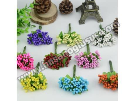 Yapay Tomurcuk Çiçek 144 Adet