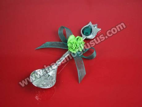 Yeşil Çiçekli Hürrem Kaşığı