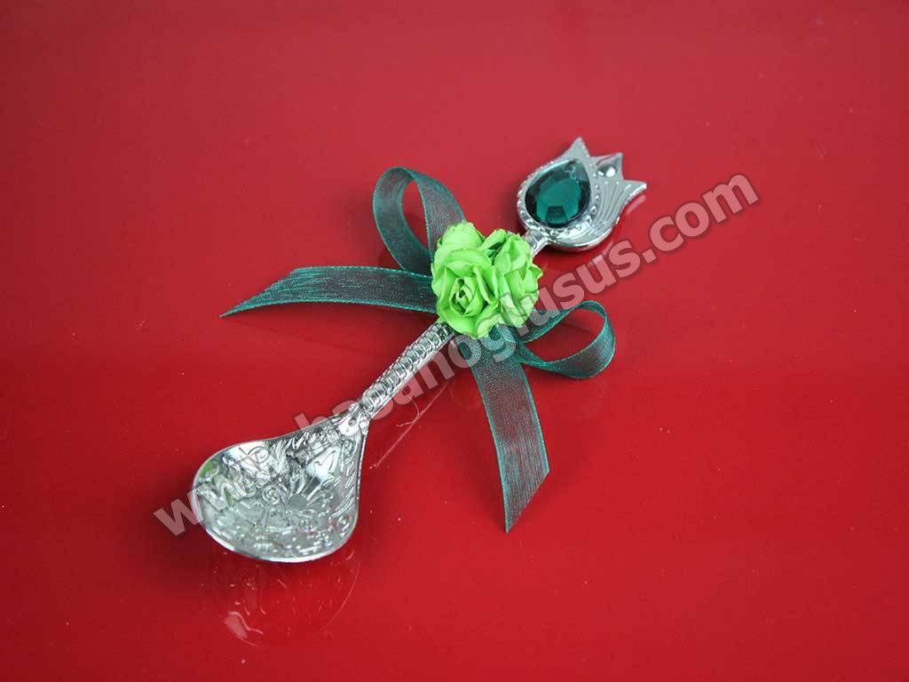 Kına Hediyelikleri, Yeşil Çiçekli Hürrem Kaşığı